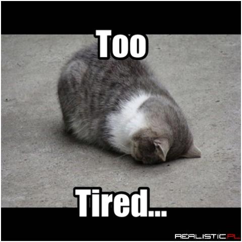 Zmęczony