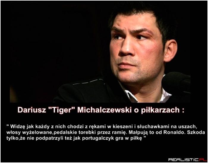 Michalczewski o piłkarzach