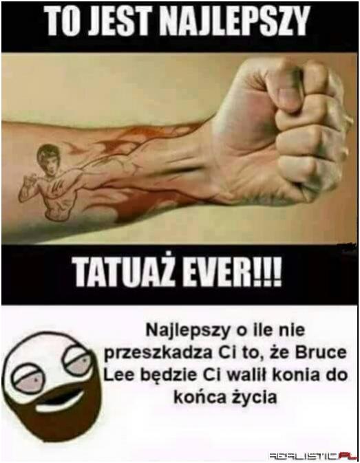 Najlepszy tatuaż