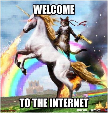 Witam w internetach