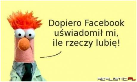Dopiero Facebook ....