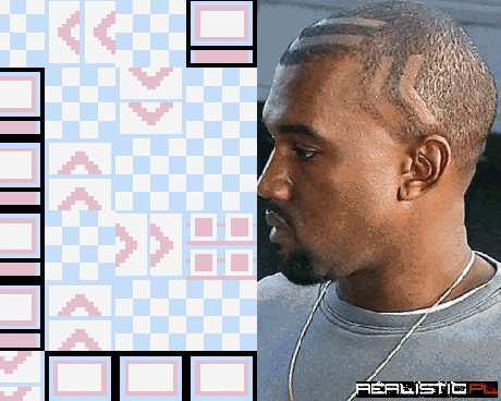 Never Going to Look at Kanye's Hair the Same Again