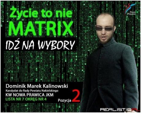 Zycie to nie matrix
