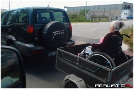 Grandma Always Wanted a Motorized Wheelchair!