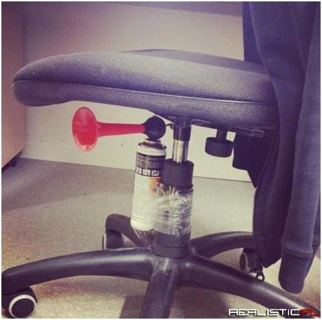 Zajebisty żarcik w pracy