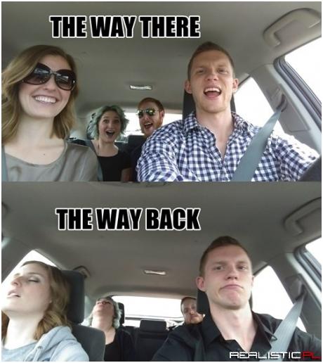 Road Trips in a Nutshell