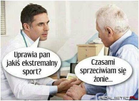 Ekstremalny sport ;)