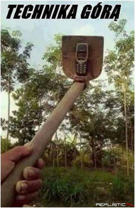 Technika górą