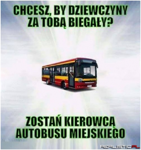 Zostań kierowcą autobusu...