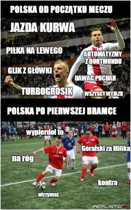 Polska od początku meczu