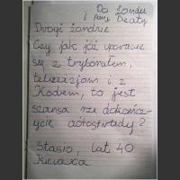 List otwarty ;)