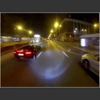 Pojedynek Polaków na pasach Lamborghini Aventador vs Suzuki GSXR 600 K1!