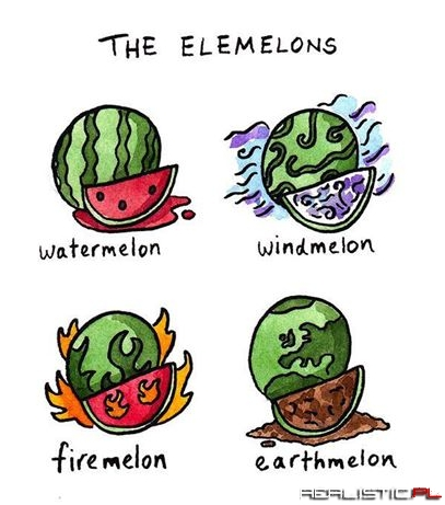 To the guy who said there should be melons of all elements